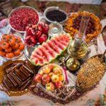 رسوم مردم استان کردستان در شب یلدا
