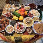 رسوم شب یلدا در چادگان اصفهان