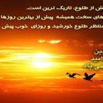 ششم فروردین روز امید و شادباش نویسی
