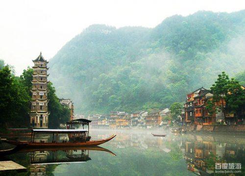 مناطق زیبای چین