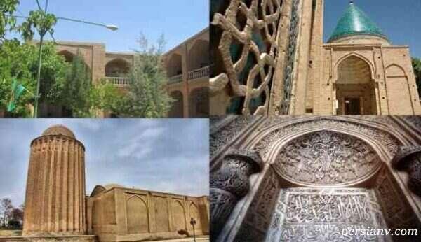 بقعهٔ امام زاده محمد (ع)در بسطام- شاهرود