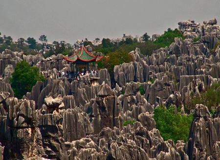جنگل سنگ در استان یوننان