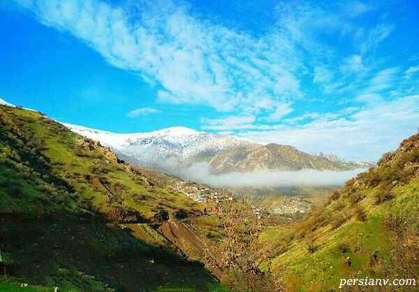 روستای دشه کرمانشاه