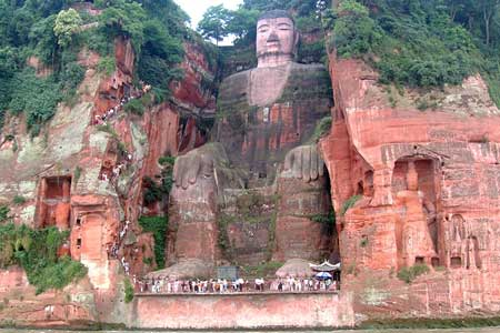 تندیس بودا در لیشان