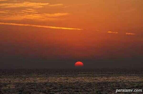 ساحل هفت رنگ کیش