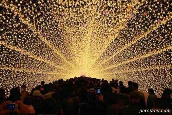 تونل روشنایی ژاپن در جزیره ناگاشیما