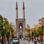 بلندترین مناره جهان در مسجد جامع یزد