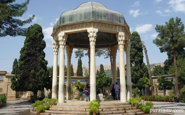 حافظیه از جاذبه های مهم شیراز