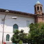 مسجد اکبریه لاهیجان از مشهورترین مساجد استان گیلان