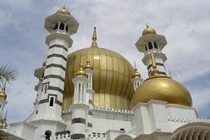 مسجد عبودیه مالزی+تصاویر