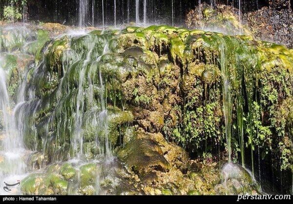 آبشار فدامی در استان فارس