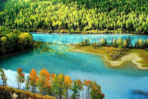 دریاچه های چین