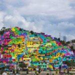 شهر رنگین کمانی در مکزیک