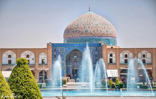 مسجد شیخ لطفالله اصفهان از شاهکارهای معماری