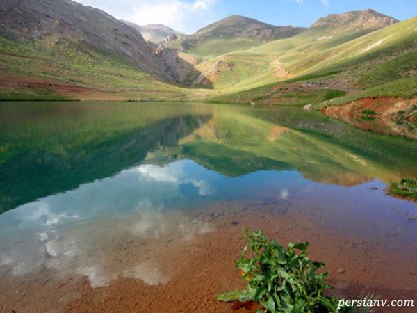 دریاچه سد سیاهرود لزور