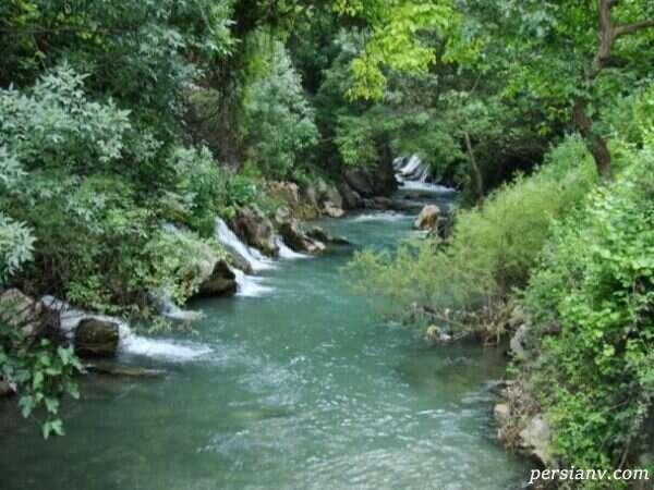 رودخانه خروشان لیله کرمانشاه