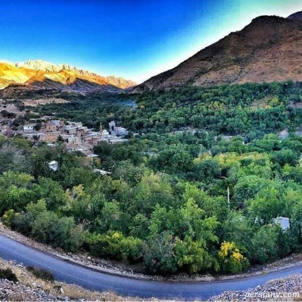 روستای گلال پاوه