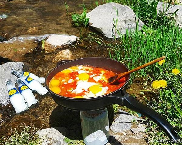 فوت و فن های شگفت انگیز آشپزی در سفر