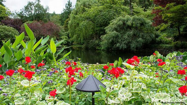 باغ های رویایی بوچارت در ونکوور کانادا