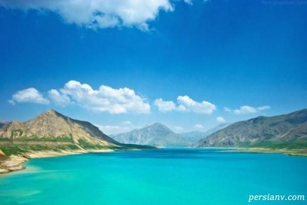 دریاچه سد لار تهران