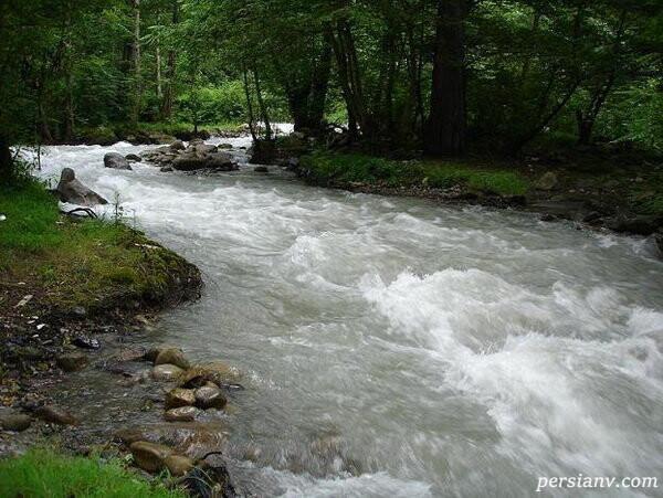 رودخانه گوهررود رشت