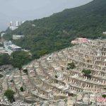 قبرستان جالب مسیحیان در هنگ کنگ+تصاویر
