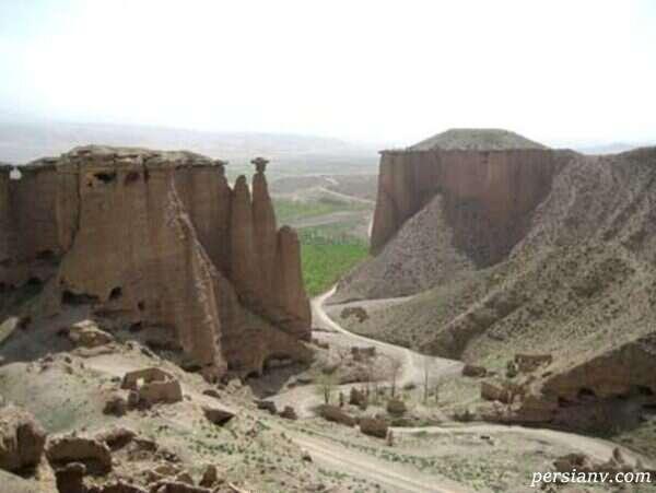 قلعه بهستان زنجان به قدمت قرن پنجم هجری قمری