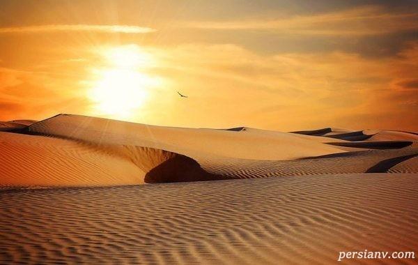 کویر مصر جندق+تصاویر