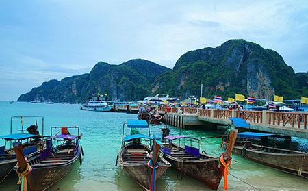 زیباترین جزایر در تایلند