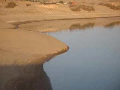 دریاچه چاه نیمه
