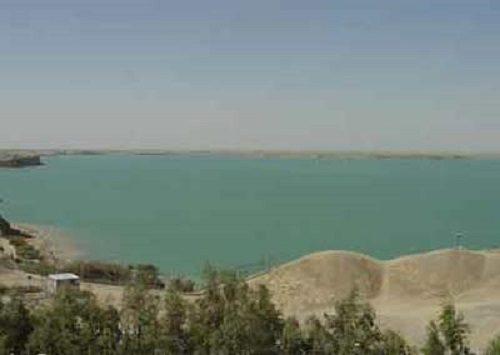 دریاچه چاه نیمه سیستان و بلوچستان+تصاویر