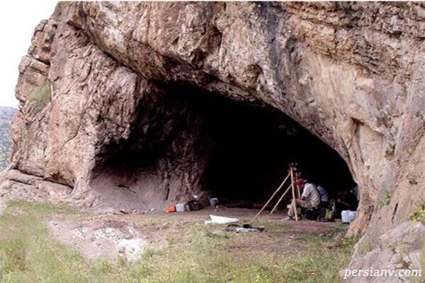 غار یافته خرم آباد