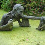 پارک ویکتوریای ایرلند با مجسمه های عجیب و ترسناک