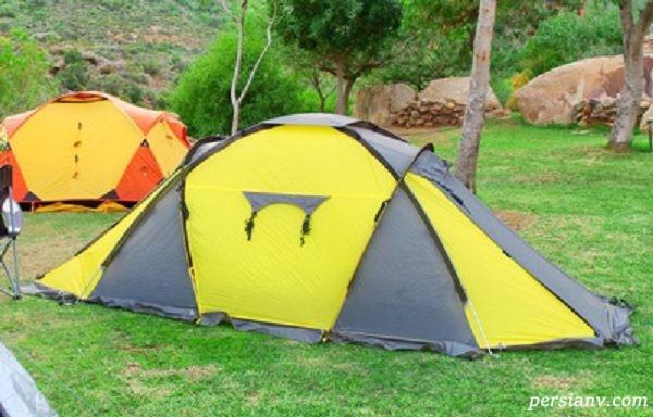 انواع چادرهای مسافرتی