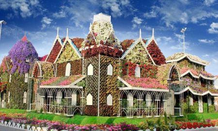 باغ گل های طبیعی