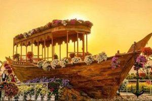 دیدن قشنگ ترین باغ گل های طبیعی جهان در دبی را ازدست ندهید!!+تصاویر