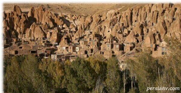 روستاهای صخرهای کندوان