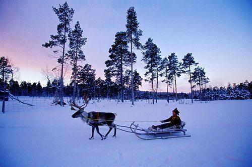 زیبایی های فنلاند در زمستان+تصاویر