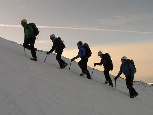 کوهنوردی در برف