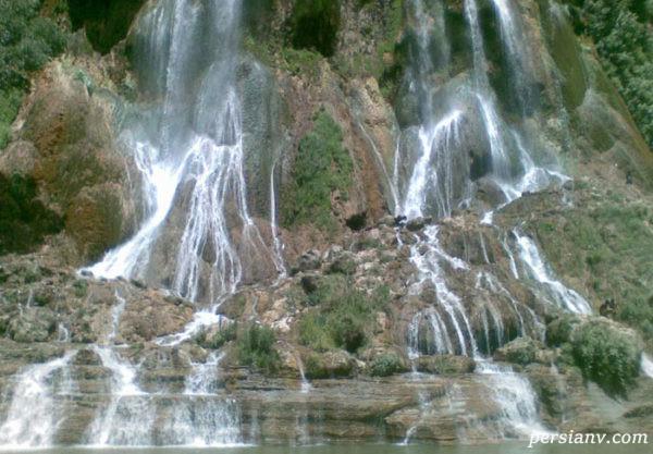 بلندترین آبشار زمینی ایران