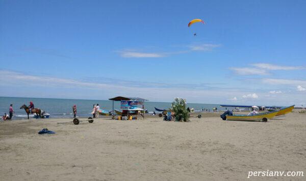 بهترین ساحل استان گیلان