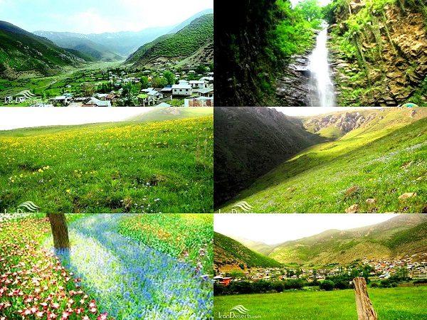آبشارهای انگاس نوشهر+تصاویر