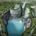 بزرگترین هتل جهان در گودالی بزرگ