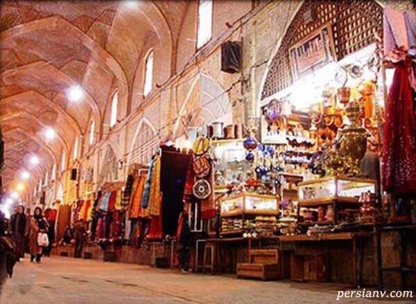 بازار 300 ساله شیراز یکی از زیباترین بازارهای ایران است