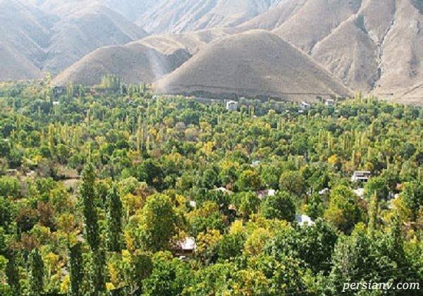 کوچه باغ های تهران