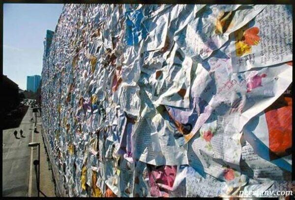 عاشقانه ترین ساختمان جهان با هزاران نامه عاشقانه