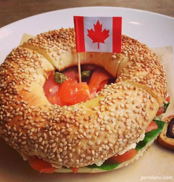 غذاهای خوشمزه کانادایی