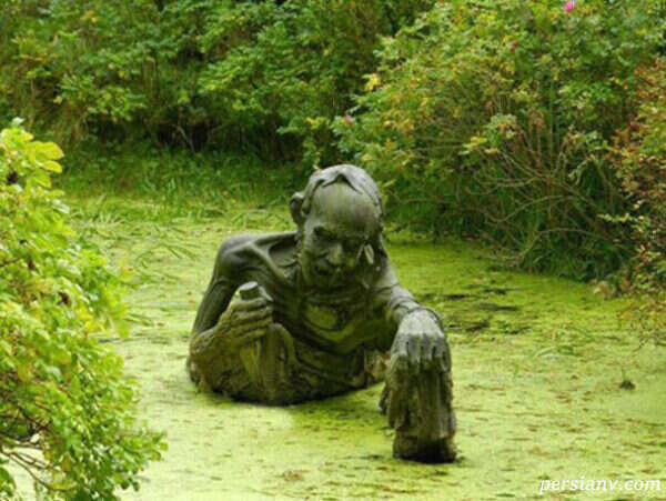 پارک وحشت ایرلند پارکی با مجسمه های وحشتناک