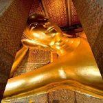 بودای لمیده طلایی,قدیمی ترین و جذاب ترین معبد تایلند+تصاویر