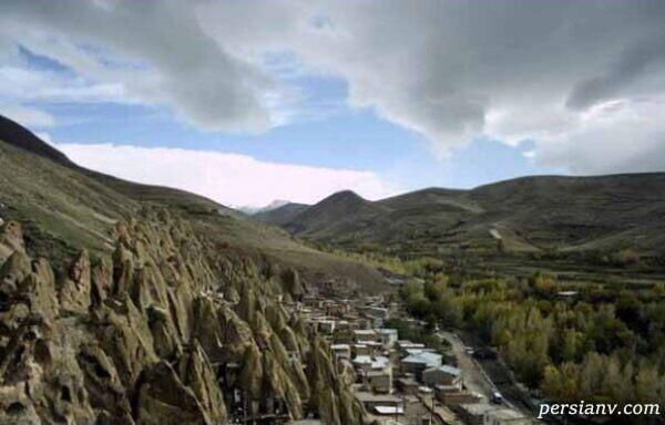 روستای صخره های ایرانی